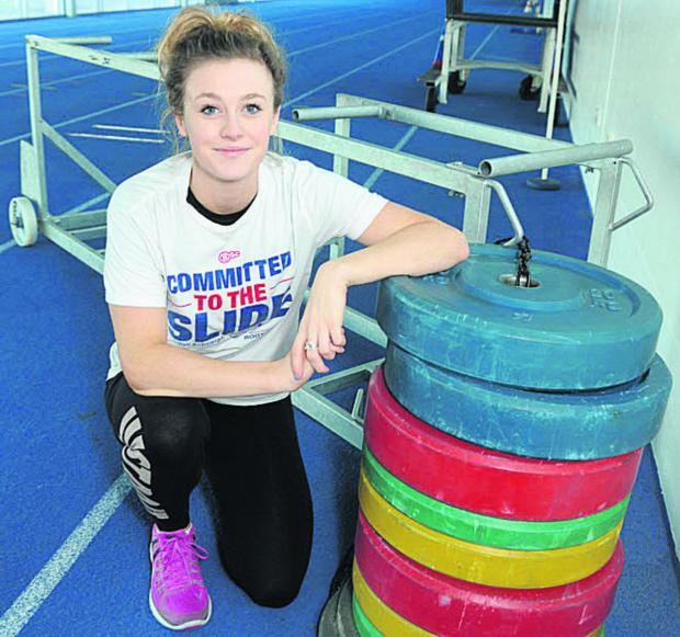 This Is Wiltshire: Anna Alexander-Holmes marked her competitive