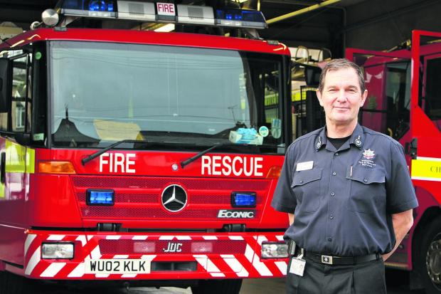 This Is Wiltshire: Chief fire officer Simon Routh-Jones