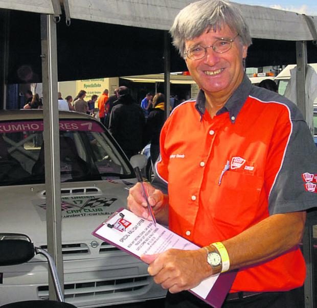 This Is Wiltshire: Former TT rider Rodney Gooch has been appointed motorcycle co-ordinator Castle Combe Circuit, near Chippenham