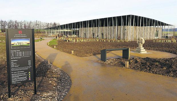 This Is Wiltshire: The new visitor centre at Stonehenge