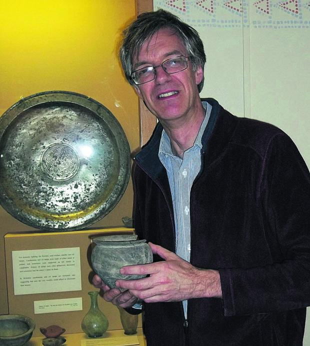 This Is Wiltshire: David Dawson, director of Wiltshire Museum in Long Street, Devizes