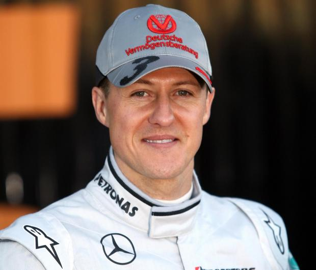 This Is Wiltshire: A portrait of Michael Schumacher was among items stolen from a garage next to a house in Ashton Keynes