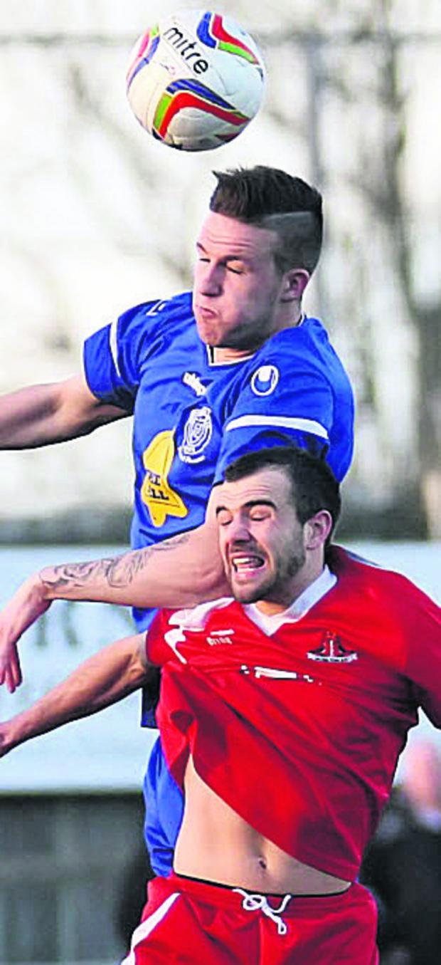 This Is Wiltshire: Chippenham Town boss Mark Collier is hoping he can negotiate another loan deal for Aaron Oakley