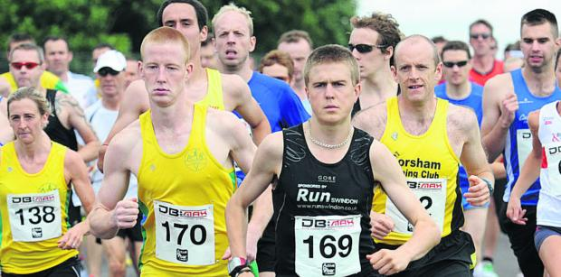 This Is Wiltshire: Michael Towler (170), Simon Nott (169) and League individual winner  Stuart Henderson, of Corsham Running Club,were at the forefront of the individual placings during the 2014 season