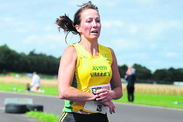 This Is Wiltshire: Avon Valley's Jill Westwood clinched the individual women's title in the 2013 Wiltshire Road Race League