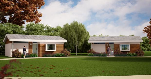 This Is Wiltshire: An artist's impression of the Prospect lodges