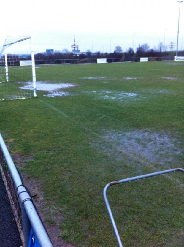 This Is Wiltshire: Rain has forced all this evening's local football to be called off