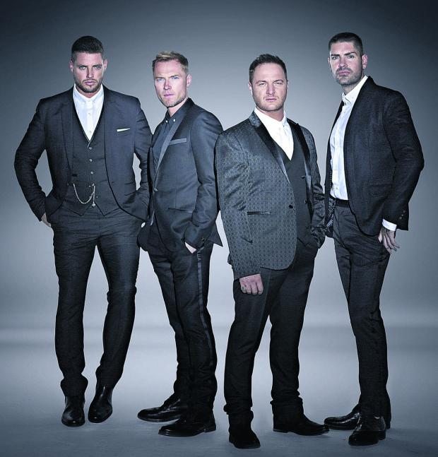 This Is Wiltshire: Boyzone will appear at Westonbirt Arboretum on July 18