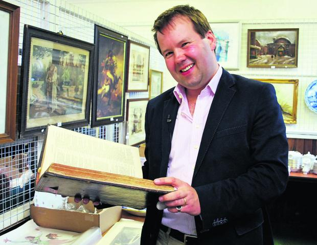 This Is Wiltshire: Antiques expert Thomas Plant is coming to town this month