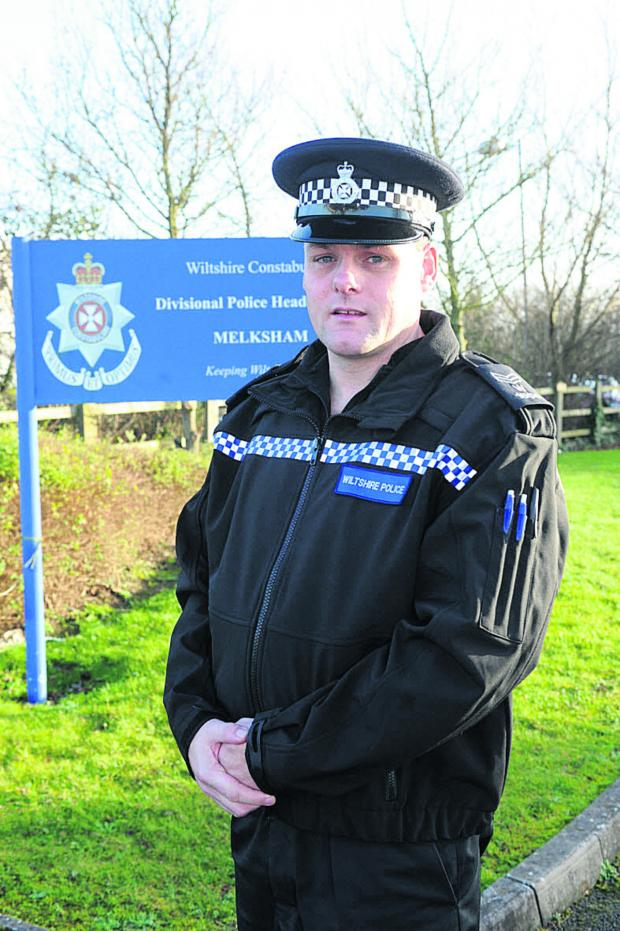 This Is Wiltshire: Sergeant James Williams, new head of Melksham  Neighbourhood police team