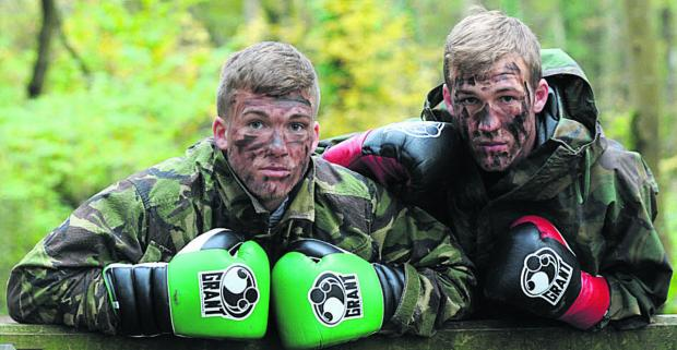 This Is Wiltshire: Nick Blackwell and brother Dan feature in this month's edition of Boxing Monthly, out now