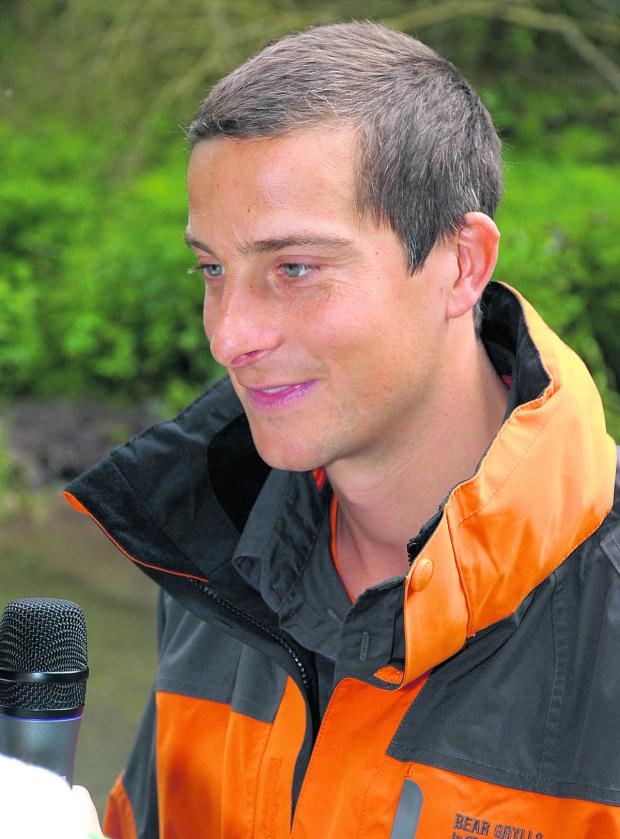 This Is Wiltshire: Bear Grylls