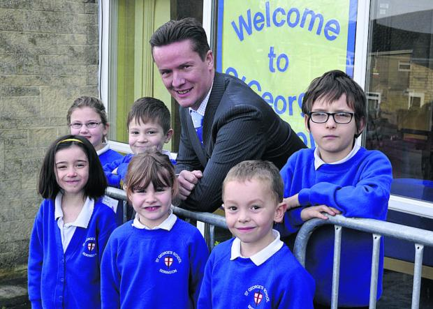 This Is Wiltshire: Gordon Campbell is the new headteacher at St George's Primary School, Semington