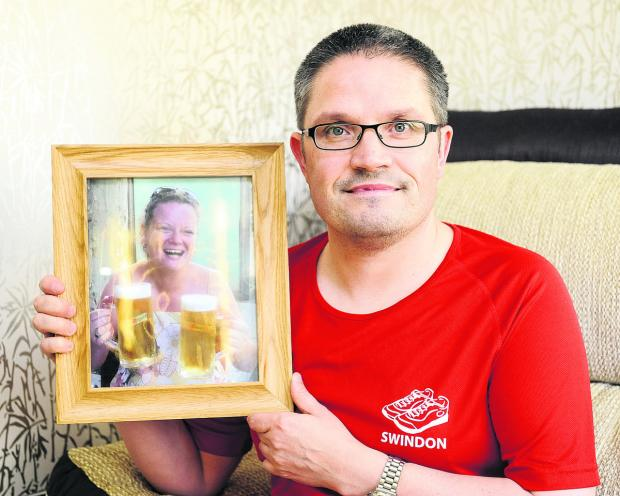 This Is Wiltshire: Warren Johnson will be running the Bath Half Marathon in memory of his