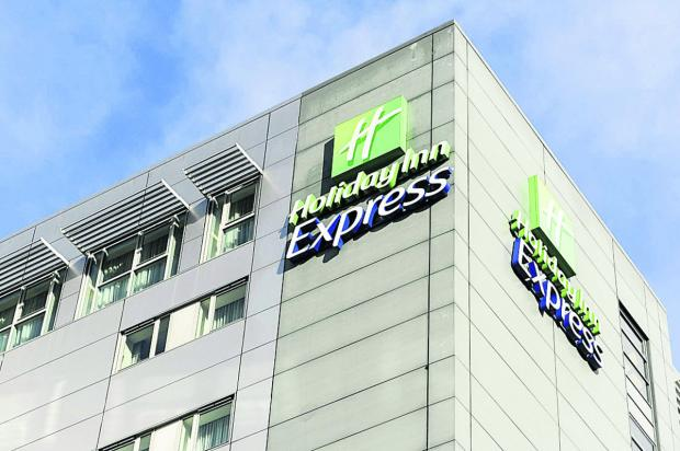 This Is Wiltshire: The Holiday Inn Express in Swindon town centre