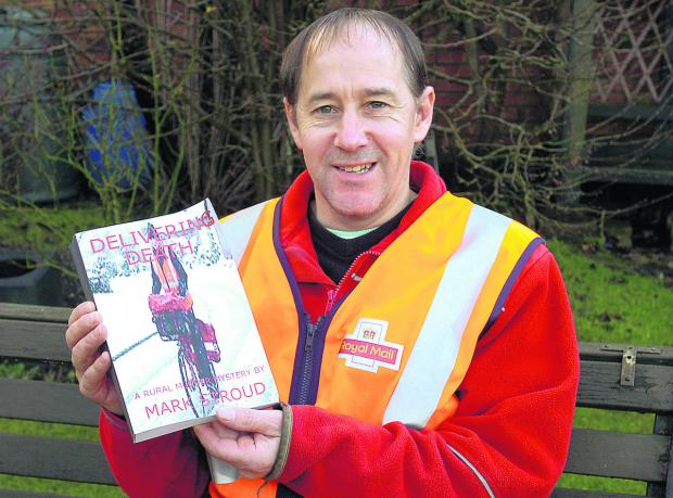 This Is Wiltshire: Postman Mark Stroud's first book is a murder mystery based in a Wiltshire town