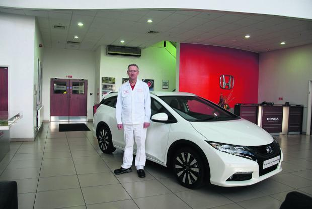 This Is Wiltshire: Richard Day, a senior manager at Honda, who has reassured customers the temporary closure of the factory will not affect their purchases