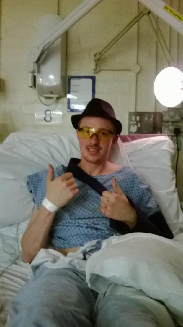 This Is Wiltshire: Joseph Wheeler is recovering from his accident in hospital