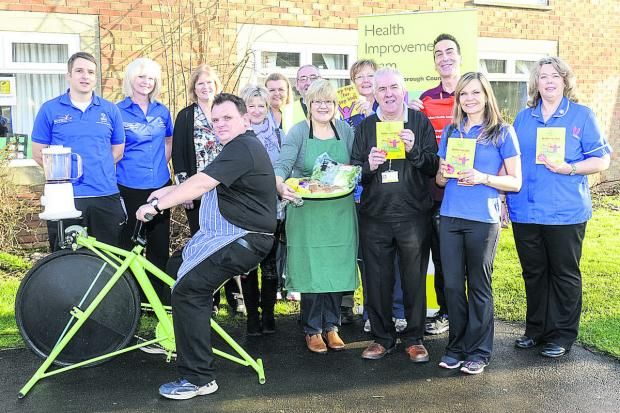 This Is Wiltshire: Launch of the Healthy Weight Awareness Week 2014 at Penhill Library