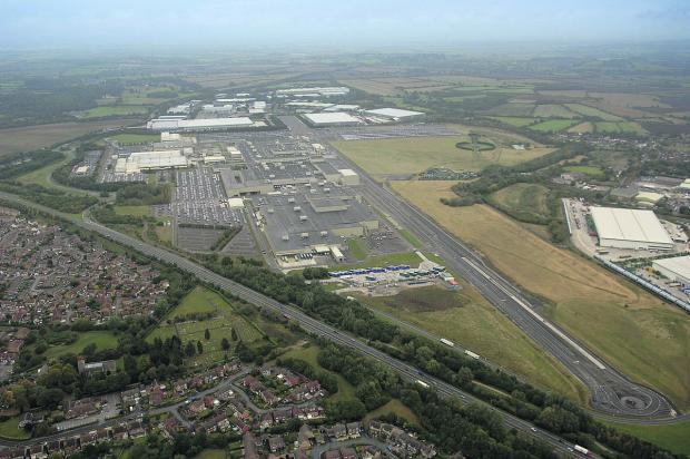 This Is Wiltshire: The Honda site at South Marston.