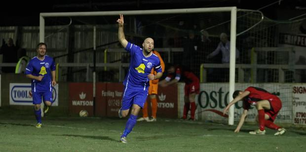 This Is Wiltshire: Alan Griffin is set to return when Chippenham Town take on Arlesey Town tonight