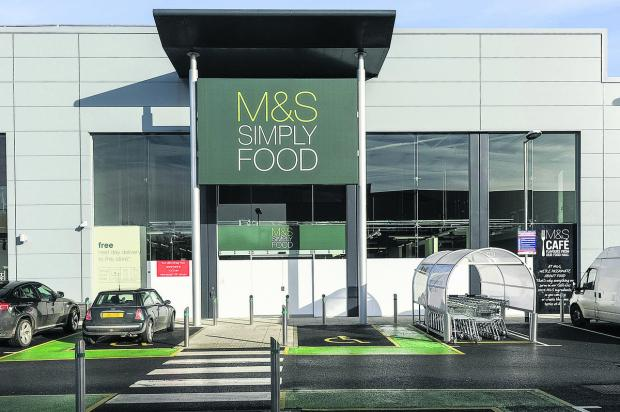 This Is Wiltshire: The new M&S Simply Food on Mannington retail park