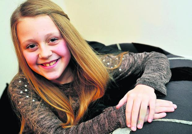 This Is Wiltshire: Phoebe Maddison, who was in a TV programme which has been nominated for a Emmy in the US