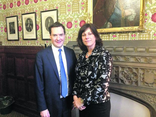 This Is Wiltshire: Claire Perry outlines her priorities to George Osborne