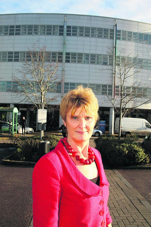 This Is Wiltshire: Great Western Hospital Chief Nurse Hilary Walker