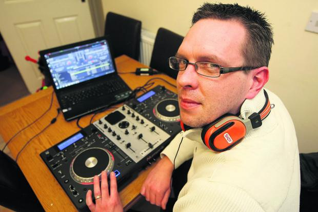 This Is Wiltshire: DJ Robert Kane from Swindon is going to attempt a 24-hour mixing session to raise money for Sport Relief