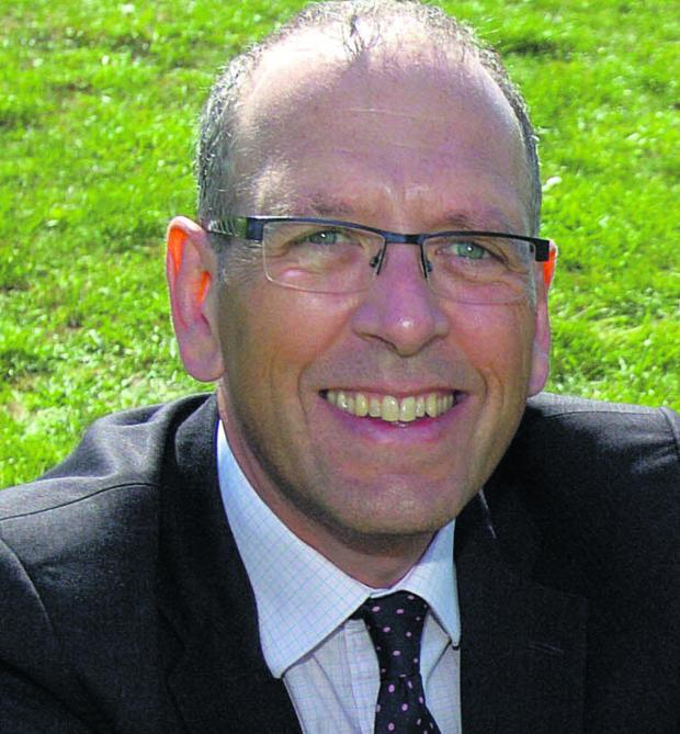 This Is Wiltshire: Malmesbury School headteacher Tim Gilson