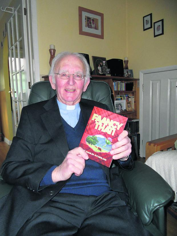 This Is Wiltshire: The Rev Charles Sutherland from Devizes with his new book called Faancy That!