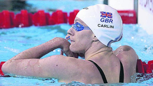 This Is Wiltshire: SWIMMING: European gold for Carlin