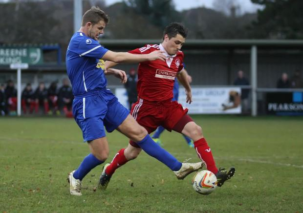 This Is Wiltshire: Chippenham Town midfielder Bryan Smith