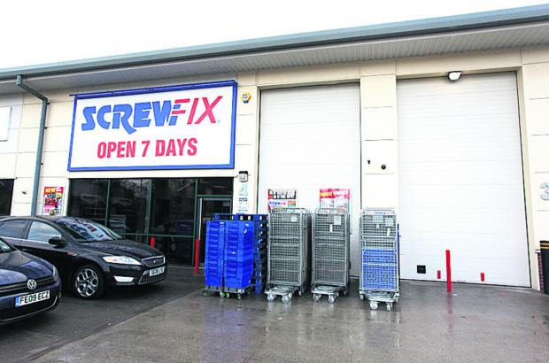 This Is Wiltshire: Screwfix plans to open at Marlborough Business Park early in February