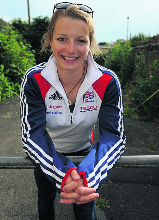 This Is Wiltshire: Bradford on Avon paddler Hannah Brown