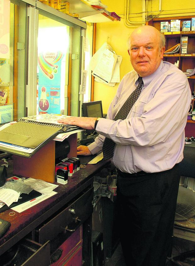 This Is Wiltshire: Postmaster Peter Smith is handing over the reins