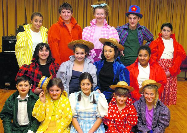 This Is Wiltshire: Some of the cast of The Wizard of Oz from Chippenham Hi-Lights