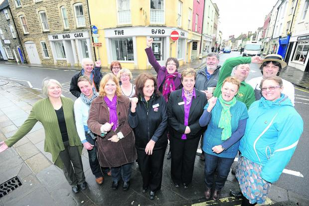 This Is Wiltshire: Malmesbury High Street's success is celebrated