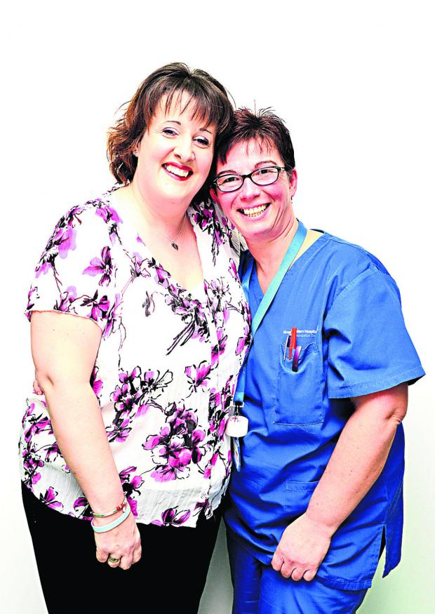 This Is Wiltshire: Maggie Powick and midwife Vivienne Cutler