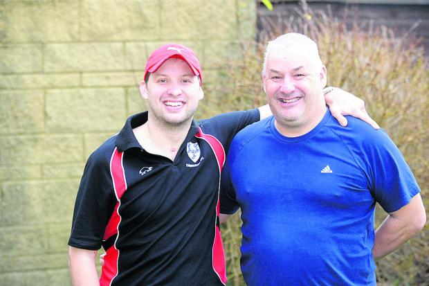 This Is Wiltshire: Lee Audis and his dad Toni are running the half marathon