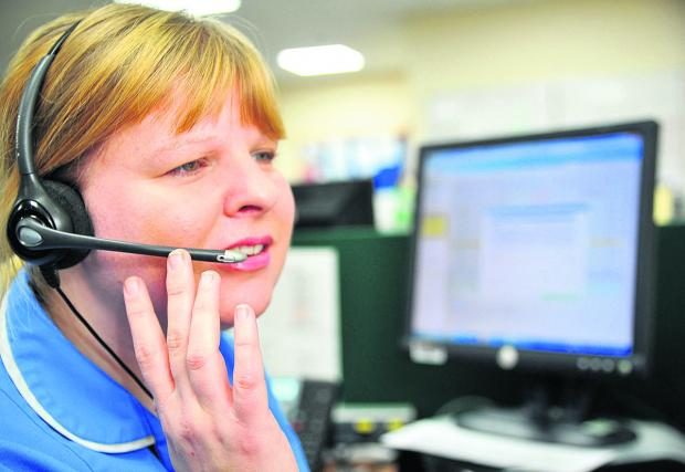 This Is Wiltshire: Jemma Black from SEQOL is an urgent care nurse who works with the telehealth system