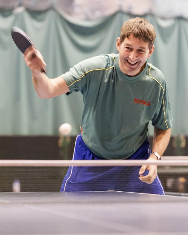 This Is Wiltshire: New Sanford Link table tennis coach Graham Slack