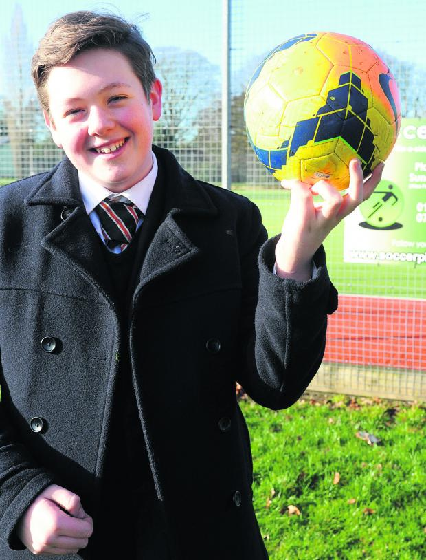 This Is Wiltshire: Kingdown School pupil Kieran Strong has been named regional winner for the south w
