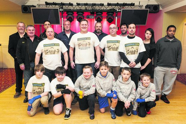 This Is Wiltshire: Scrappers Boxing Gym awards presentations at the Moonrakers