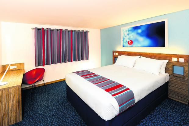 This Is Wiltshire: Devizes Travelodge is celebrating a new look as part of a £233 million refurbishment programme across the company