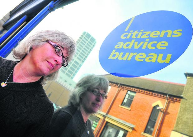 This Is Wiltshire: Sue Williams, Macmillan welfare benefits adviser at Swindon Citizens Advice Bureau