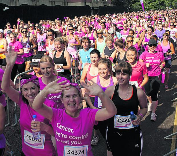 This Is Wiltshire: Have fun taking part in Cancer Research UK's Race for Life