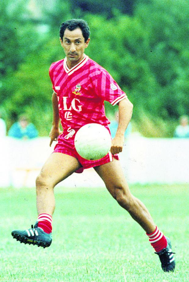 This Is Wiltshire: Ossie Ardiles pictured during his time at Swindon