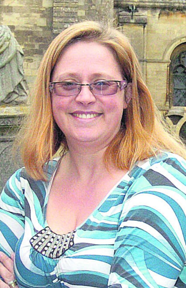 This Is Wiltshire: Malmesbury Chamber of Commerce chairman Aimee Frankham